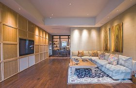 Built-in Living Room Cabinets Ideas