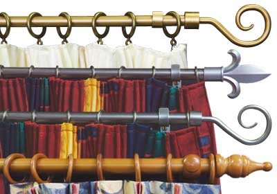 Curtains For Living Room,Curtain Styles,Livingroom Curtain Rods