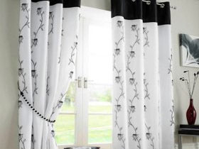 Eyelet Curtain for Living Room