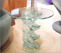 Glass Living Room Furniture