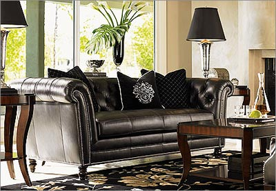 Cheap Leather Living Room Furniture on Black Living Room  Black Living Room Furniture  Black Living Room