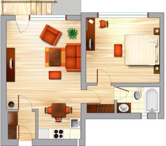 A Successful Living Room Design Project Living Room Design Ideas Living Room Plan