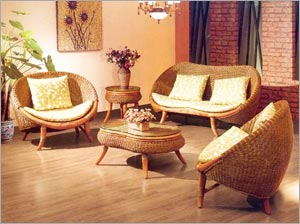 Exceptionnel Rattan Living Room Furniture