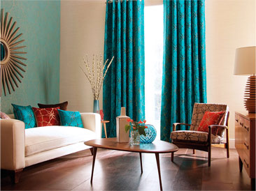 Floor Length Living Room Curtains