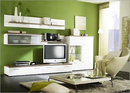 Living Room Wall Units Tv Showcase Designs For Living Room