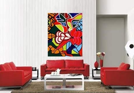 Living Room Paintings. Wall Painting Art Part 58