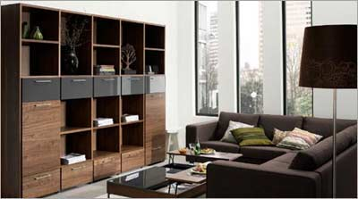 Walnut Veneer Wood Furniture